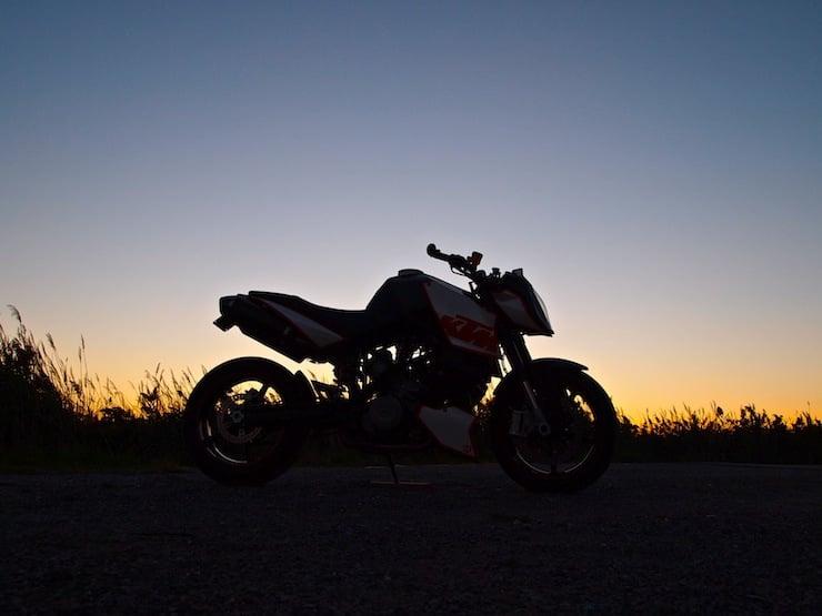 KTM Superduke 990 Motorbike