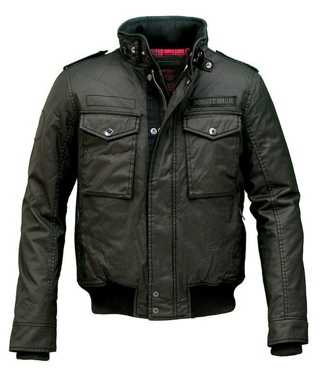 Schott Waxed Security Jacket