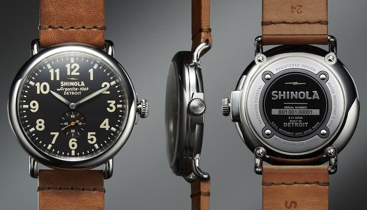Shinola Watches The Runwell by Shinola