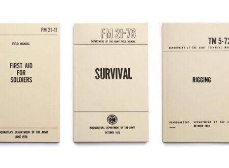 US Army Field Manuals 450x330 - US Army Field Manuals (Set of 3)