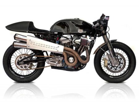 harley cafe racer 450x330 - Harley Cafe Racer by Deus Ex Machina