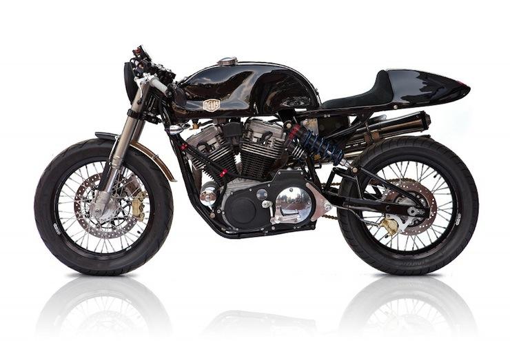 harley cafe racer 5 Harley Cafe Racer by Deus Ex Machina