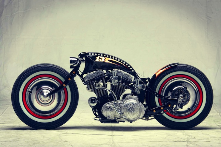 Harley-Davidson Sportster Custom by Art of Racer