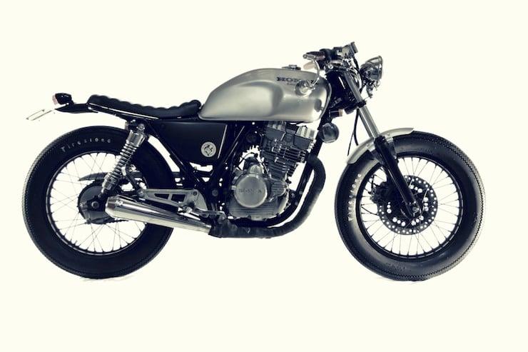 honda gb 250 motorbike 2