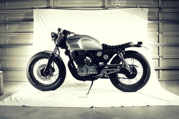 honda gb 250 motorbike