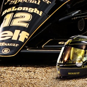 Lotus JPS Helmet by 2/10th Designs