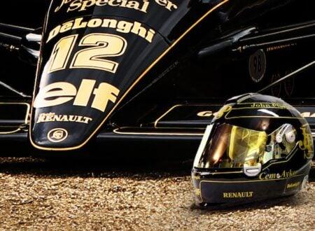 lotus f1 helmet 450x330 - Lotus JPS Helmet by 2/10th Designs