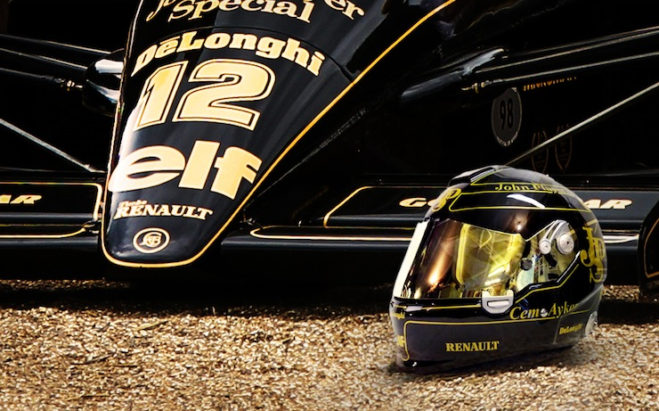 lotus f1 helmet Lotus JPS Helmet by 2/10th Designs