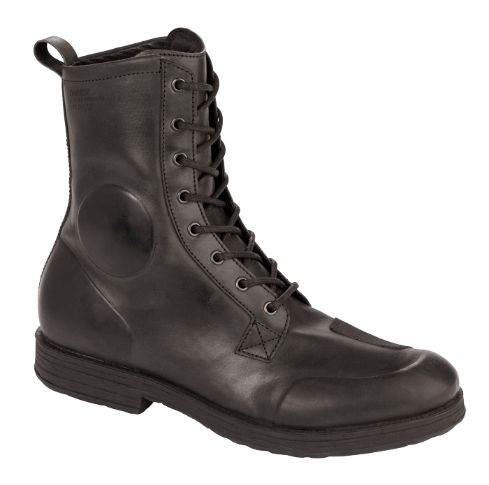 retro motorcycle boot