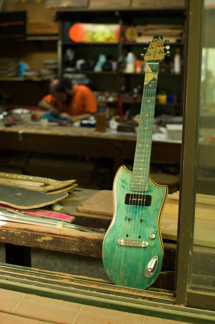 skate guitars
