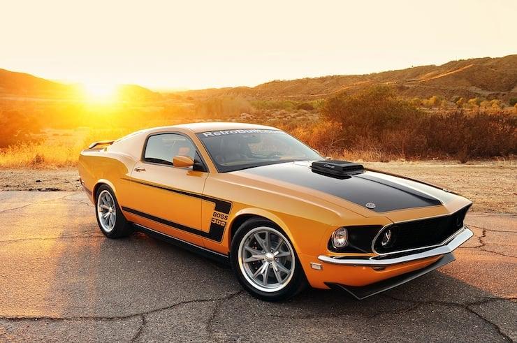 Retrobuilt 1969 Mustang Fastback