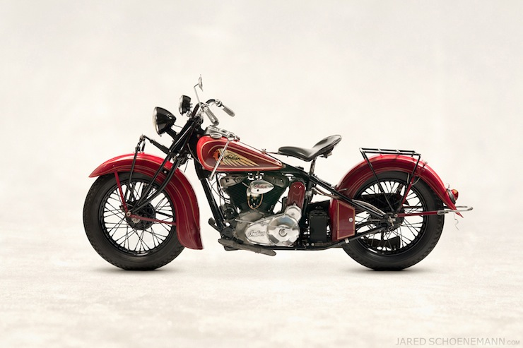 1938 Indian Chief Side Profile