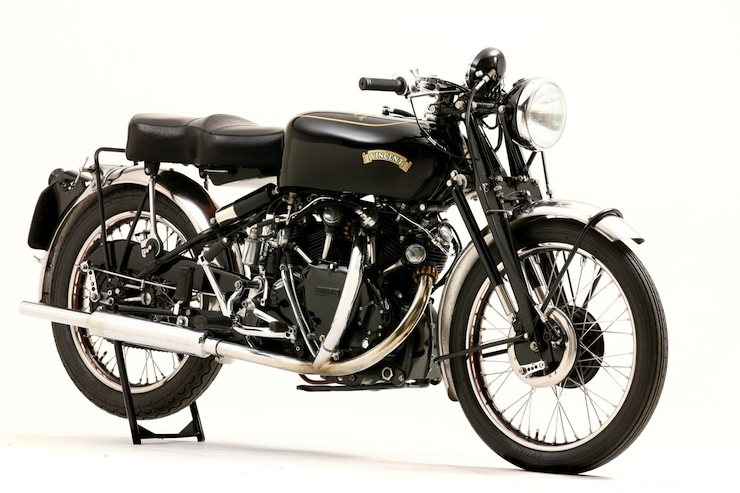 1952 Vincent Montlhery Black Shadow 2