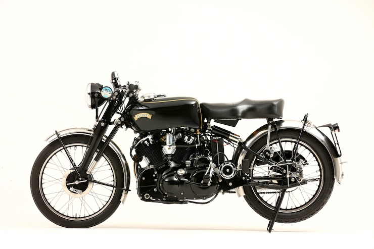1952 Vincent Montlhery Black Shadow