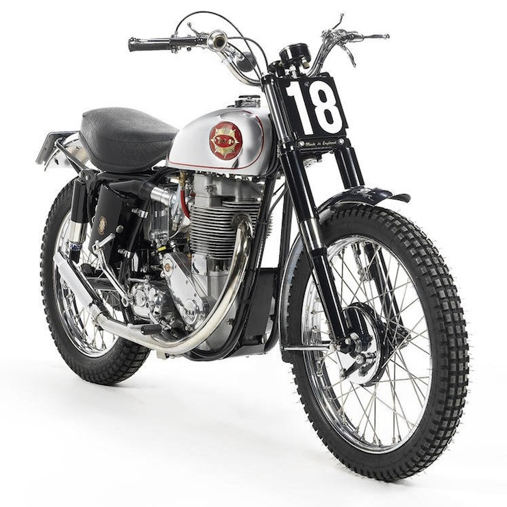 BSA 499cc Gold Star Scrambler