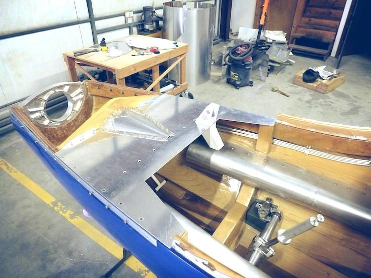 Bugatti 100P Build Cockpit 2