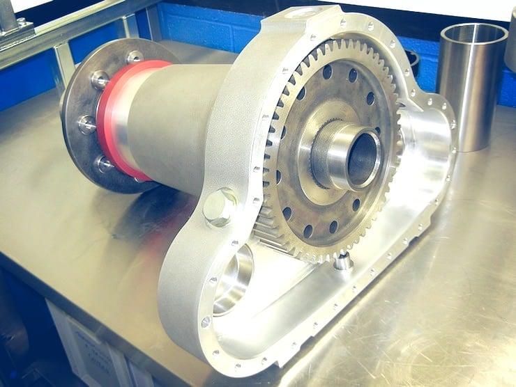 Bugatti 100P Build Open Transmission