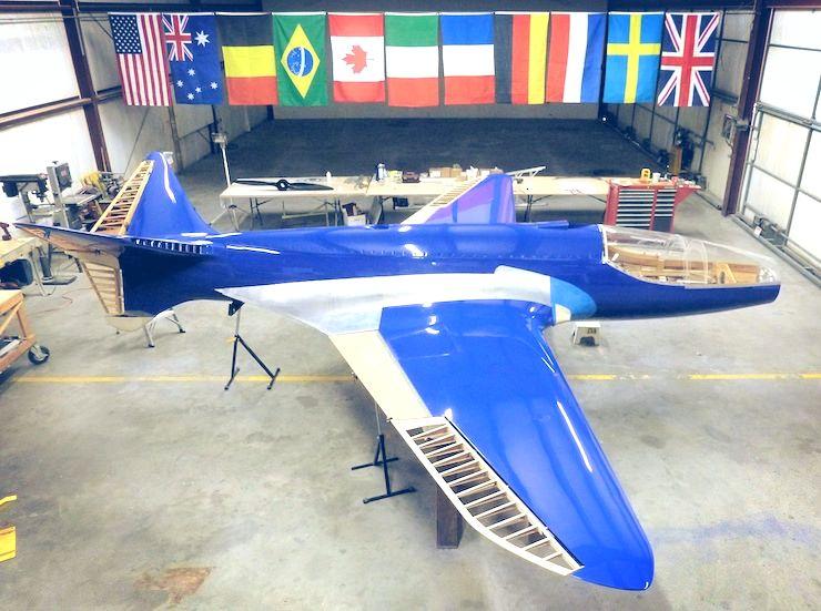 Bugatti 100P Build Side View