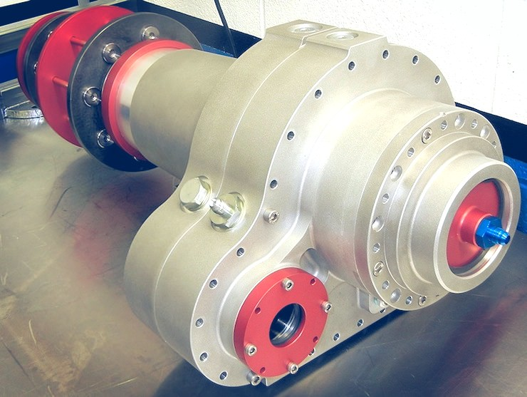 Bugatti 100P Build Transmission