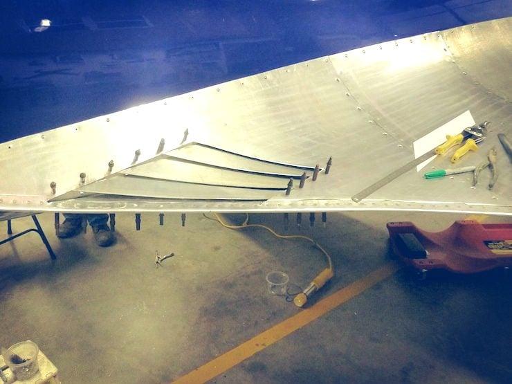 Bugatti 100P Build wings