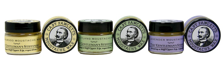 Captain Fawcett's Moustache Waxes