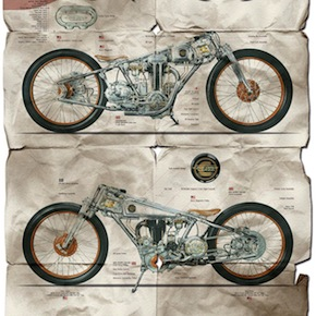 Chicara Nagata Motorcycles1 - The Motorcycles of Chicara Nagata