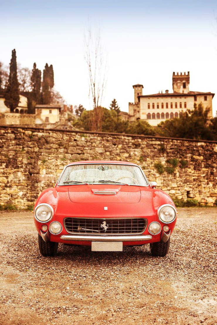 Ferrari 250 GT Lusso Front On