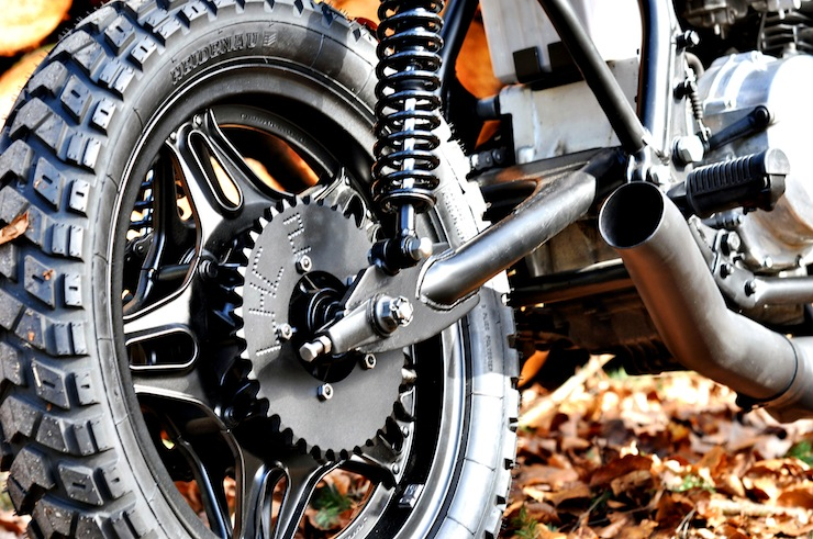 Honda CB750 Scrambler Motorbike Wheel