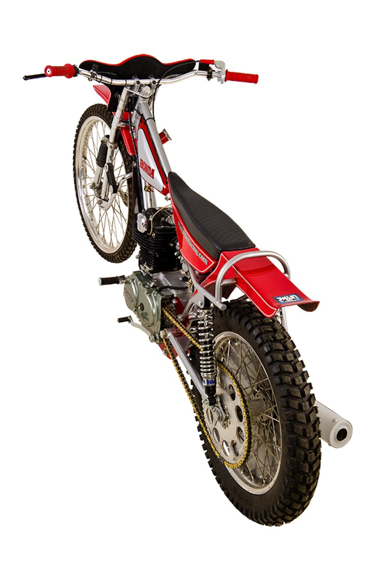 Honda XL350 Grass Tracker 2