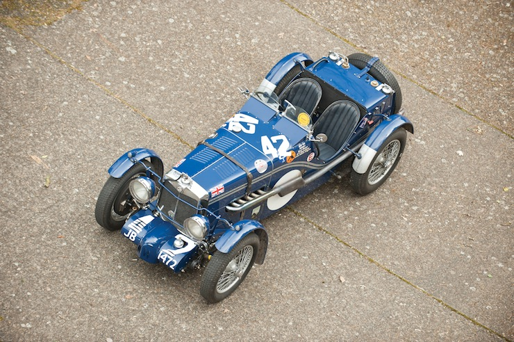 MG K3 Mille Miglia 1933 MG K3 Magnette