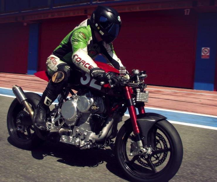 Nembo Upside Down Engine Motorcycle