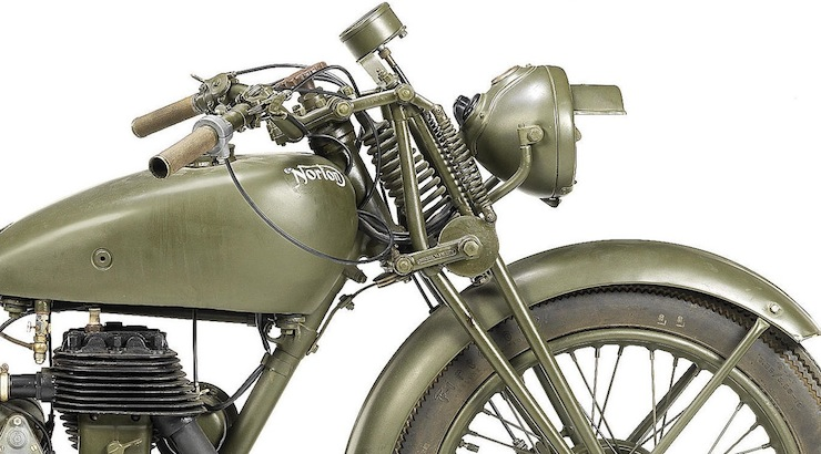 Norton 490cc Model 16H Military 2