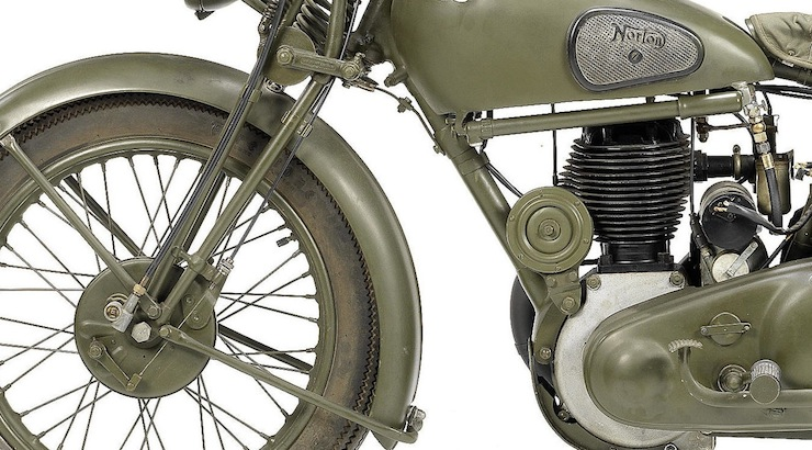 Norton 490cc Model 16H Military 3