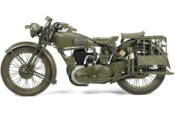 Model J Harley Davidson Military Motorcycle