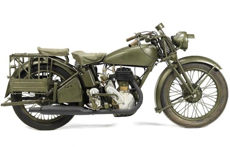 Norton Model 16H Military