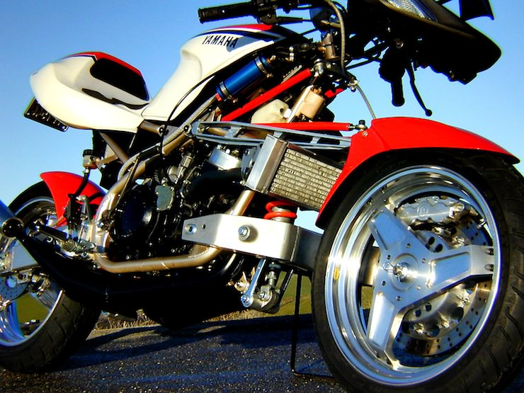 Yamaha A-N-D FFE 350 - Forkless