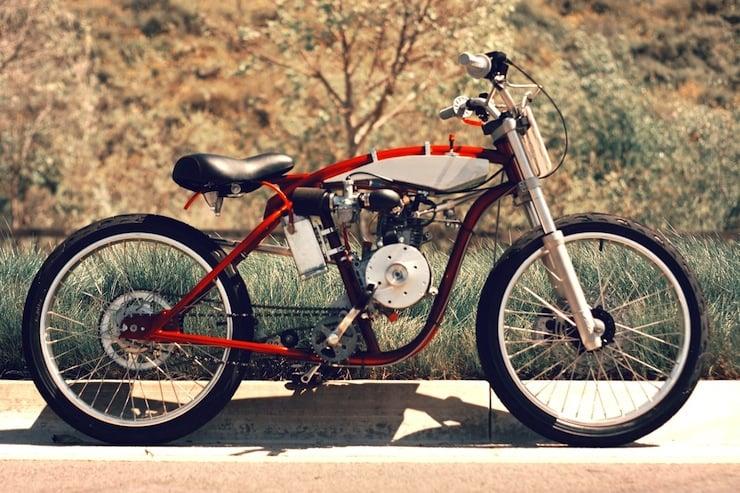 motorized bicycle 1