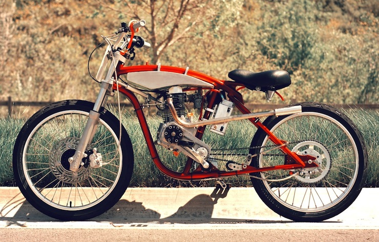 motorized bicycle 2
