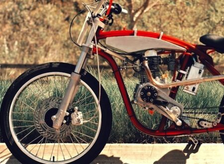 motorized bicycle 21 450x330 - DMB Speedster by Wolf Creative Customs