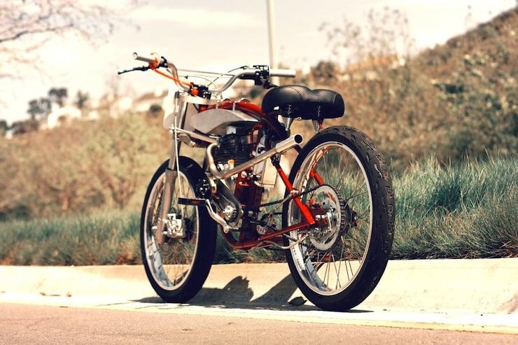 motorized bicycle 4