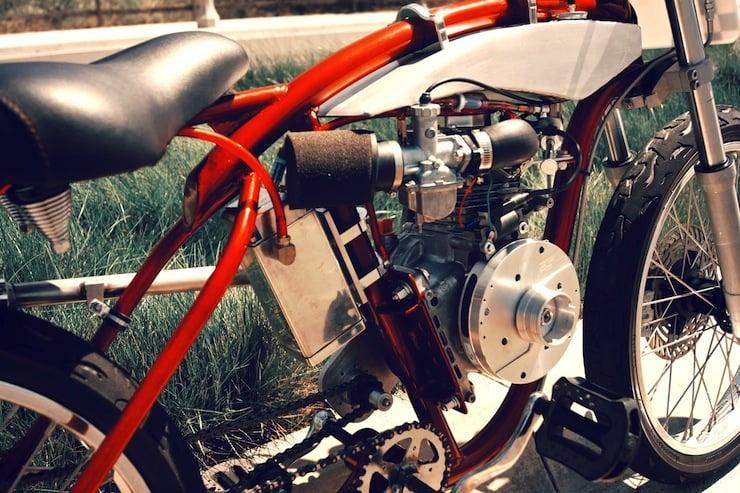 motorized bicycle engine