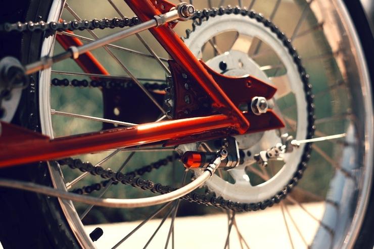motorized bicycle hub