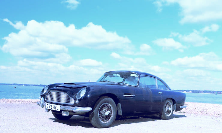 1963 Aston Martin DB4 'Series V' Vantage Sports Saloon 8