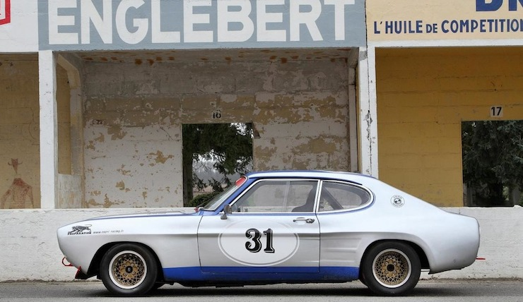 1972 Ford Capri RS2600 Group 2 Competition Coupe 1
