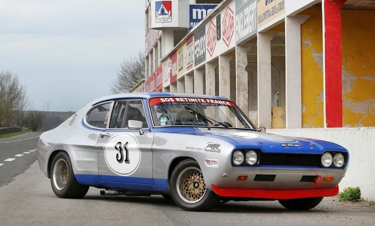 1972 Ford Capri RS2600 Group 2 Competition Coupe