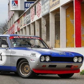 1972 Ford Capri RS2600 Group 2 Competition Coupe1 - Ford Capri RS2600 Group 2 Competition Coupe