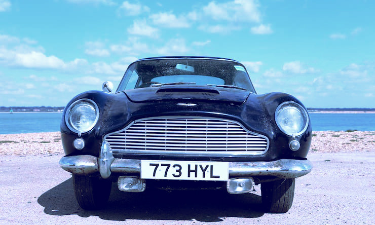 Aston Martin DB4 Series V Vantage Sports Saloon 9 1963 Aston Martin DB4 Series V Vantage