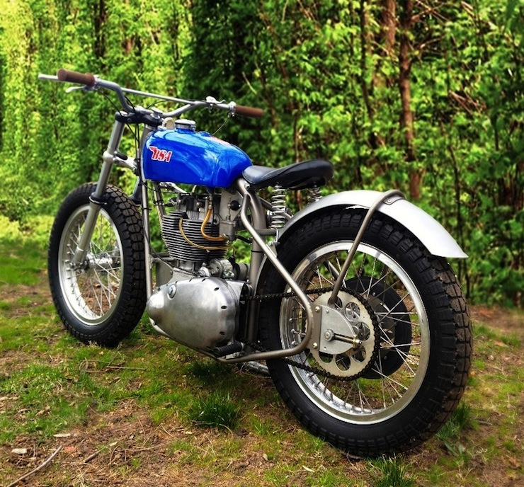 BSA Flat Tracker 1957 BSA Gold Star Flat Tracker