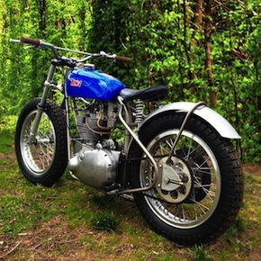 1957 BSA Gold Star Flat Tracker