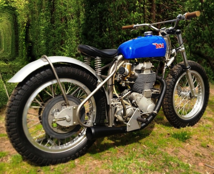 BSA Motorbike 1957 BSA Gold Star Flat Tracker